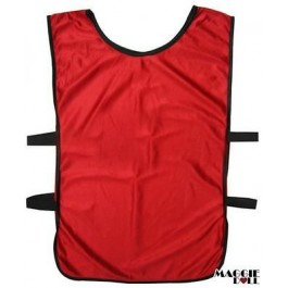 Sports Training Bibs Vests Top Red